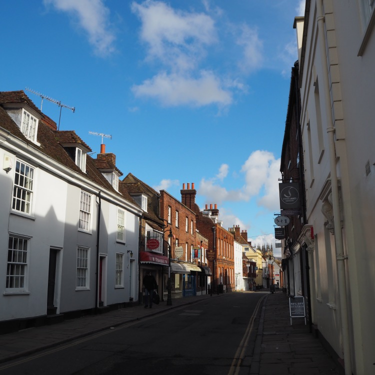 Castle Street Canterbury
