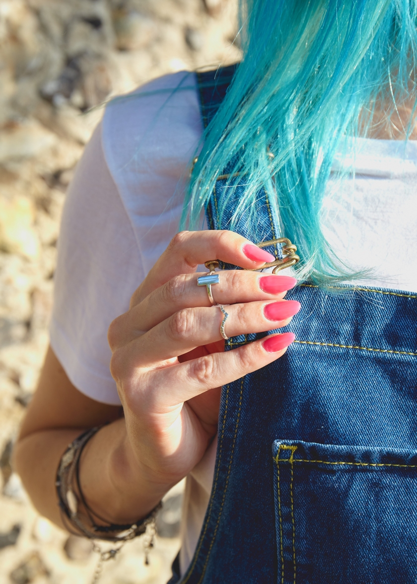Puck and Wanderlust Rings