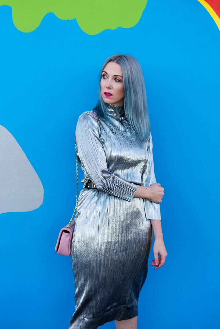 Milk It Silver Dress