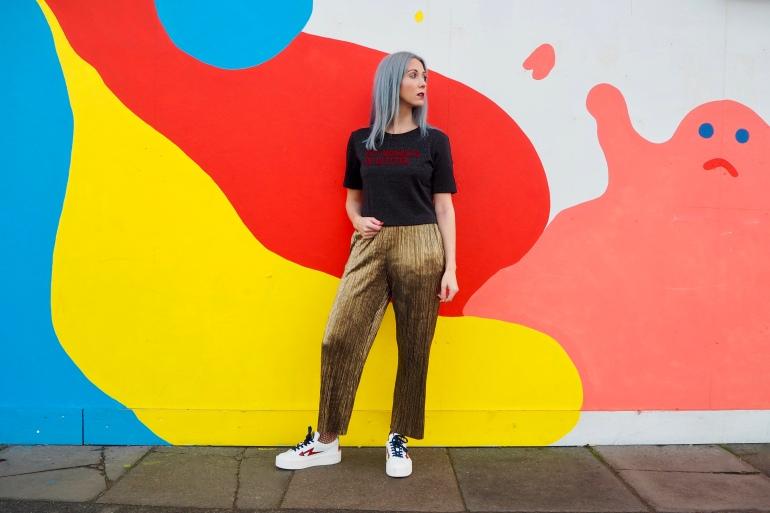 Zara Dip Mondays In Glitter