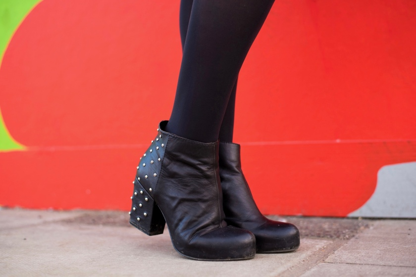Office Studded Boots