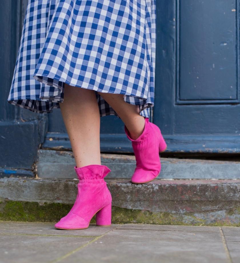Kurt Geiger Pink Boots